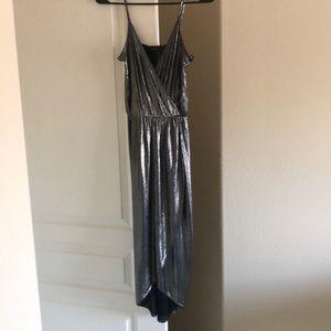River Island Metallic Dress